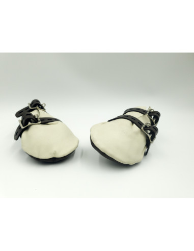 Leather Lockable Mittens - Type A -...