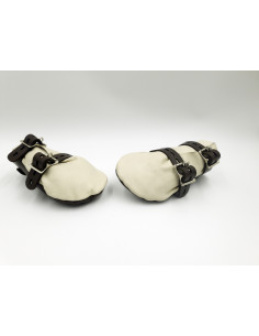 Leather Lockable Mittens -...